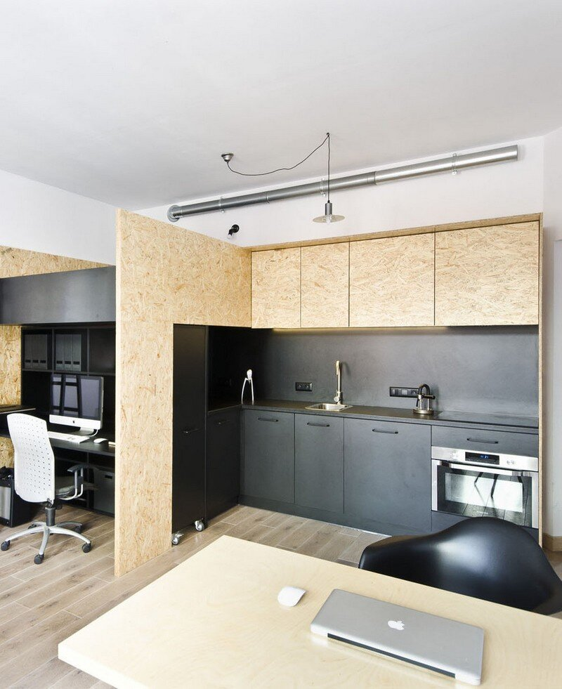 Multfunctional Space Brandburg Design Studio and Apartment in 37sqm 6