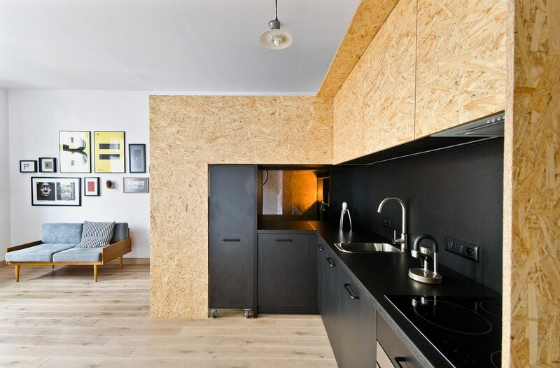 Multfunctional Space Brandburg Design Studio and Apartment in 37sqm 10