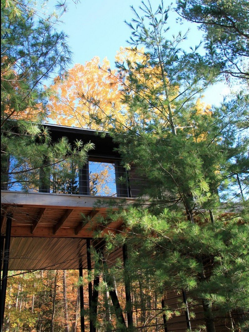 Off-the-Grid Cottage Nature-Inspired Retreat in Haliburton Highlands 1