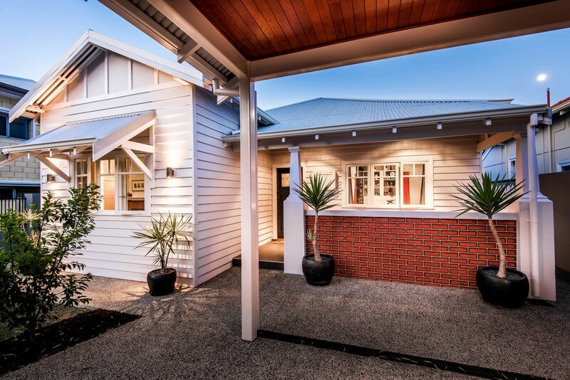 Old Maylands Cottage Turned into a Mid-Century Modern Home 13