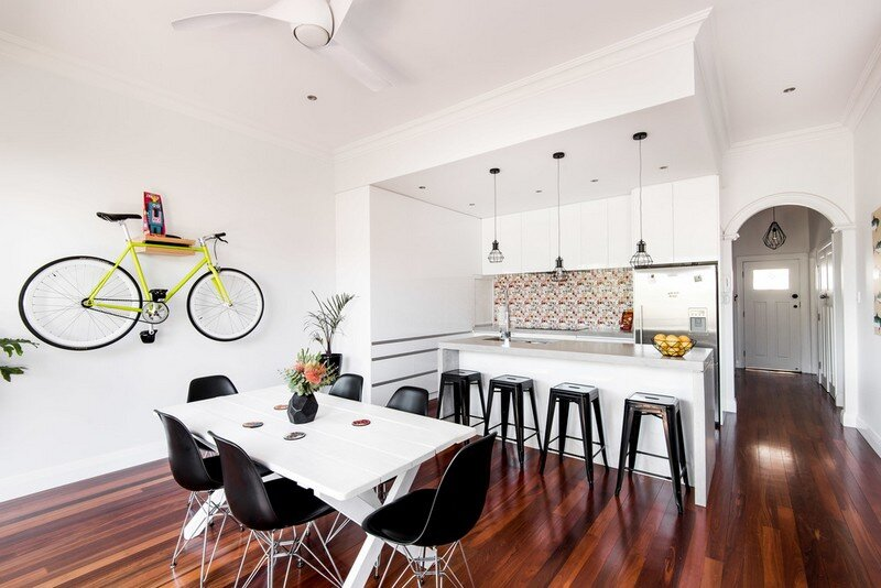 Old Maylands Cottage Turned into a Mid-Century Modern Home 8