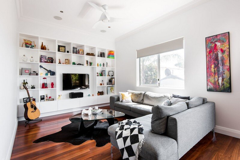 Old Maylands Cottage Turned into a Mid-Century Modern Home 1