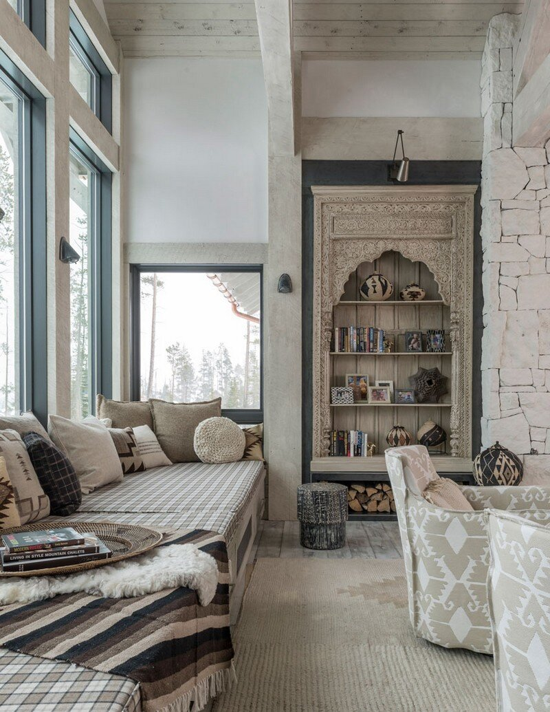 Rustic Mountain House with Zen Interiors Cashmere Interior 2