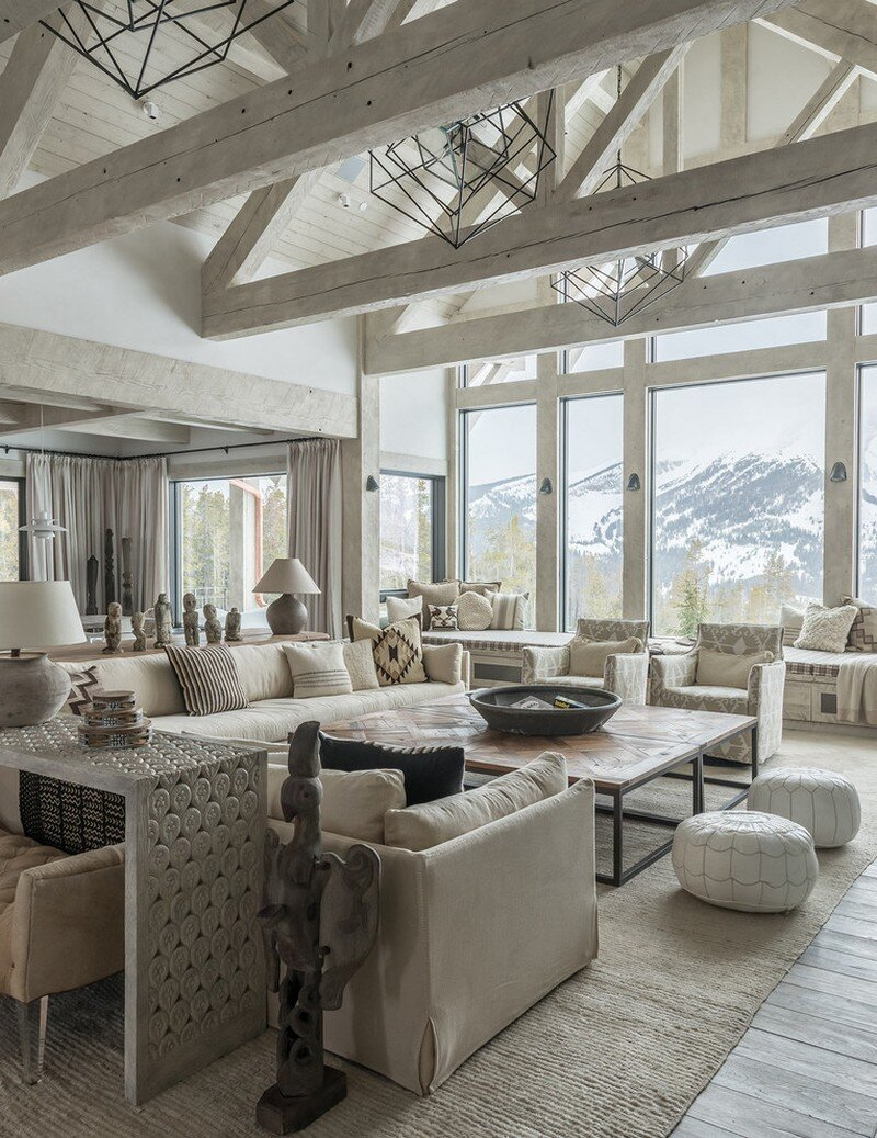 Rustic Mountain House with Zen Interiors Cashmere Interior 1