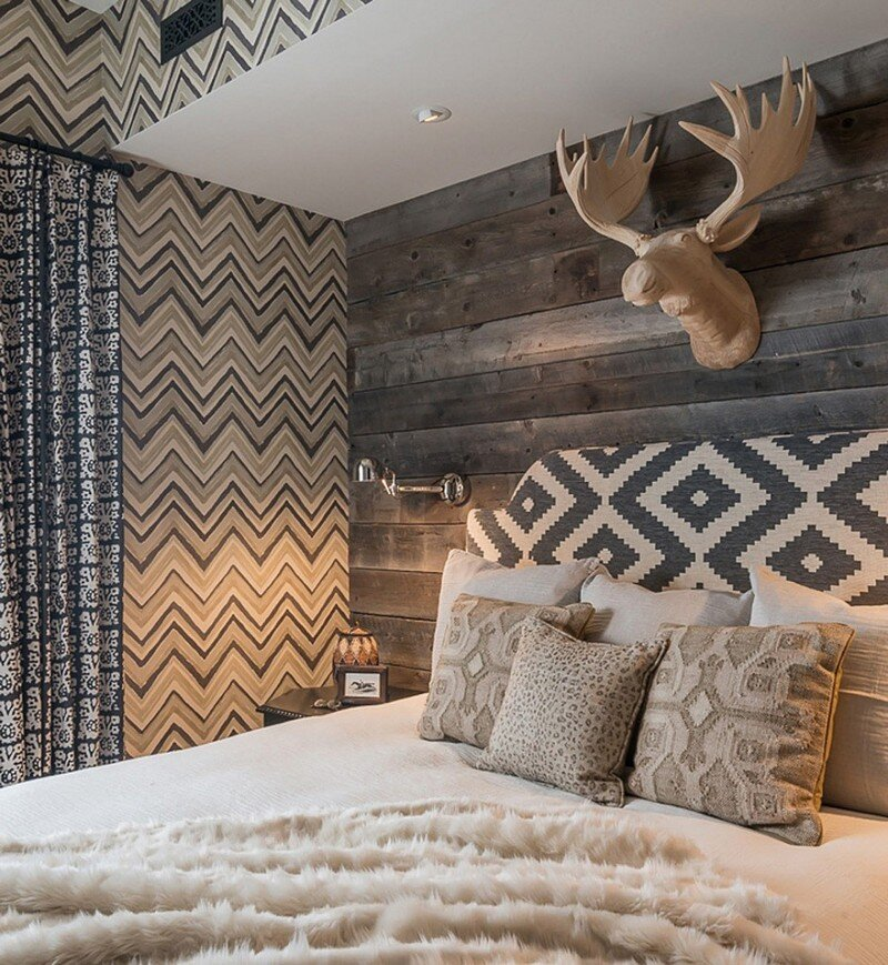 Interior Design Project Ideas: Ski Chalet In The Yellowstone Club