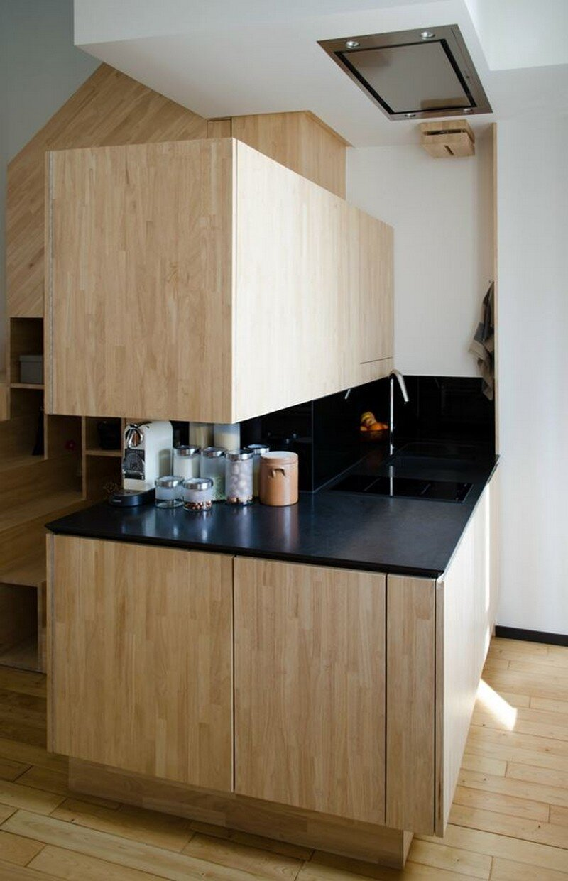 Small Bordeaux Apartment Revealing a Good Space Distribution 9