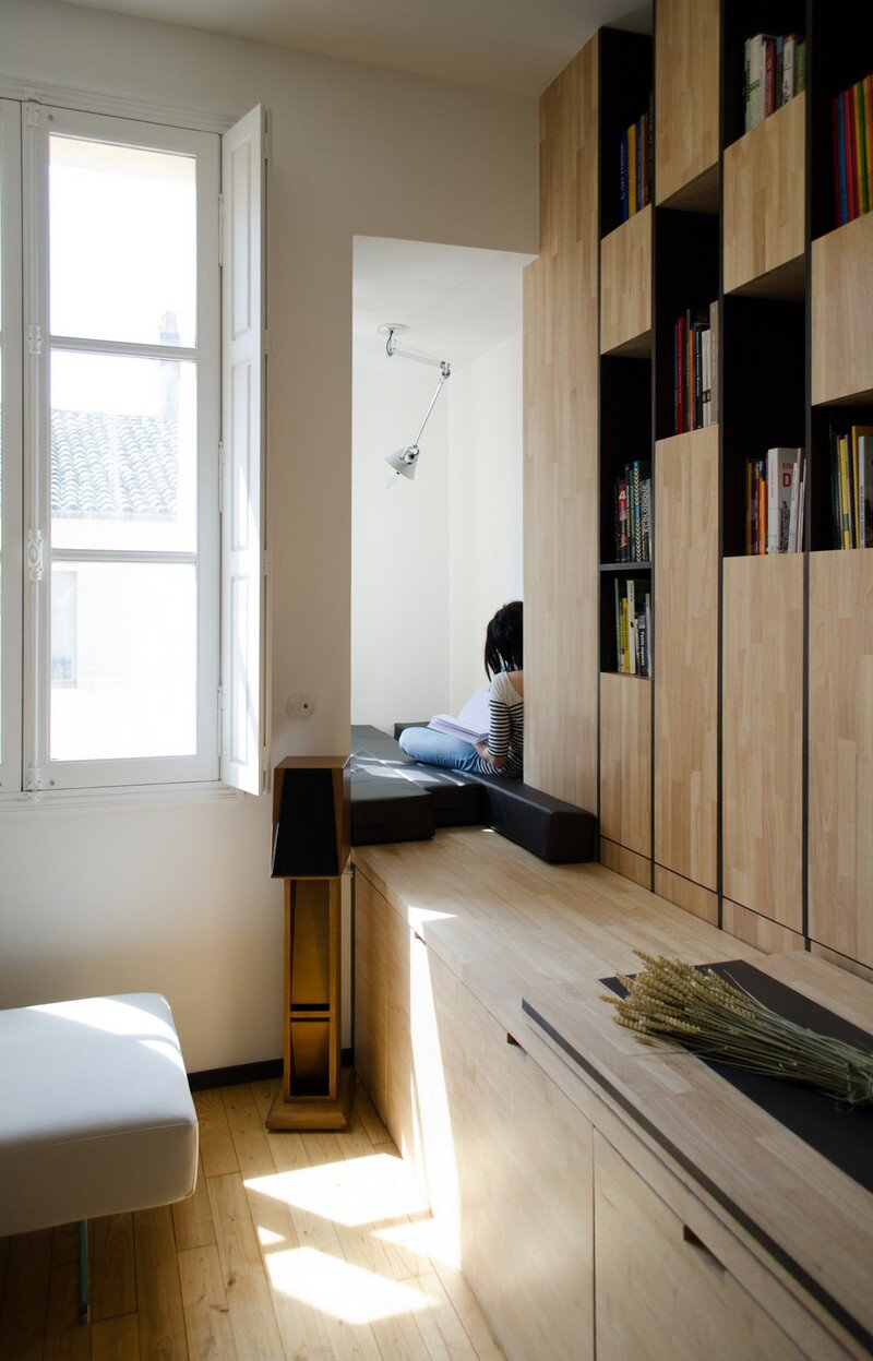 Small Bordeaux Apartment Revealing a Good Space Distribution 1