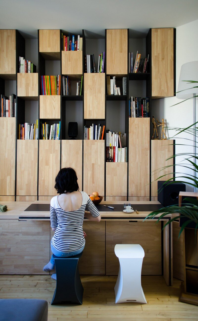 Small Bordeaux Apartment Revealing a Good Space Distribution 4