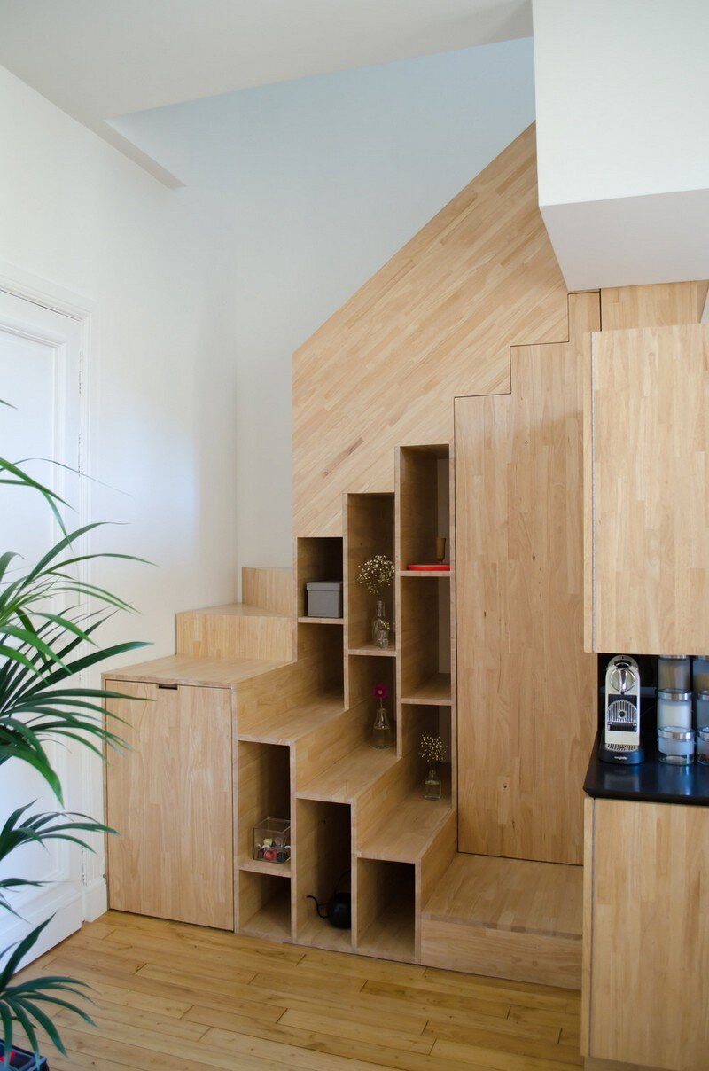 Small Bordeaux Apartment Revealing a Good Space Distribution 10