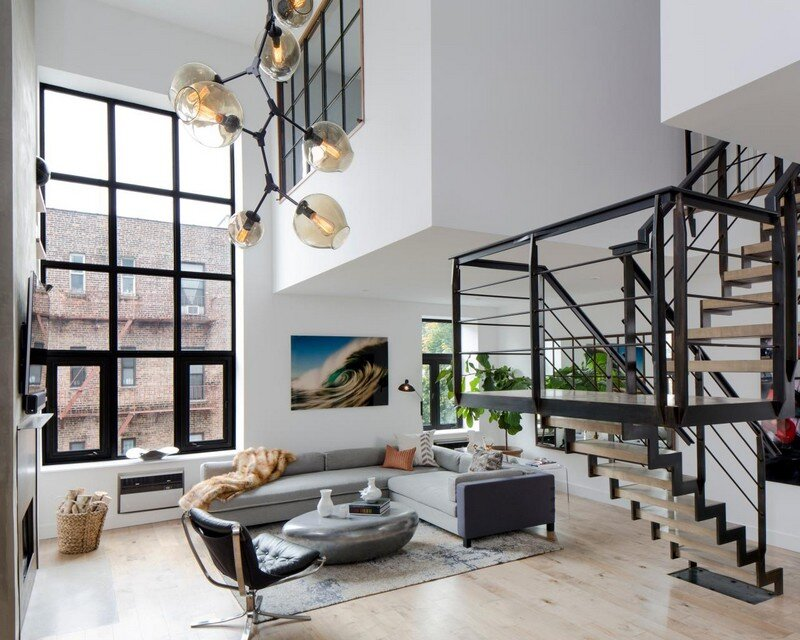 Home Design York Of Soho Duplex Renovation In New York Decor Aid