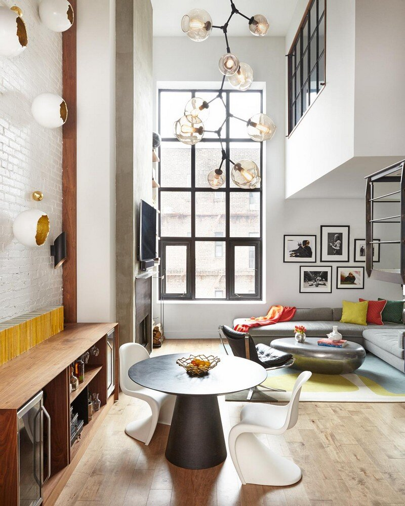 Soho Duplex Renovation in New York Decor Aid 2