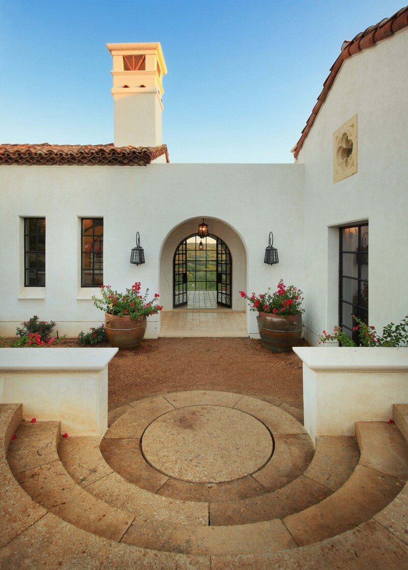 Spanish Oaks in California by Hugh Jefferson Randolph Architects 1