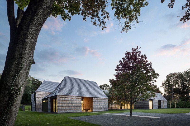 Underhill House - A Family Home Inspired by Quaker Values / Bates Masi Architects