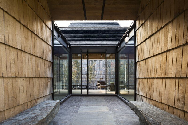 Underhill House - A Family Home Inspired by Quaker Values / Bates Masi Architects 2