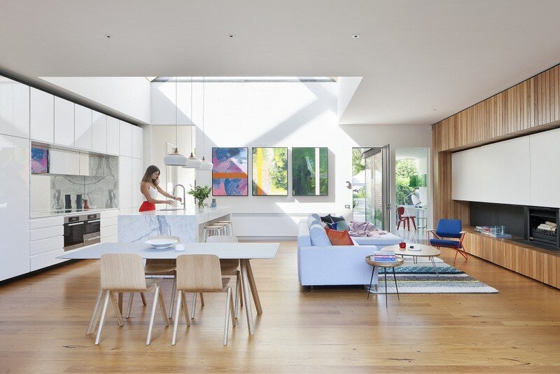 Victorian Terrace House By Matt Gibson