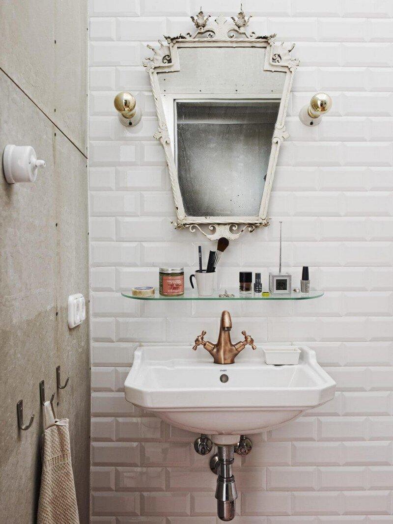 Vintage Style Mini Loft in Budapest / A + Z Design Studio 13