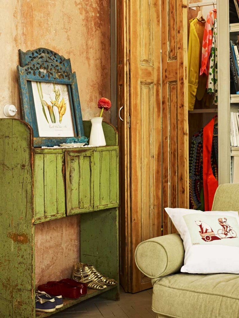 Vintage Style Mini Loft in Budapest / A + Z Design Studio 4