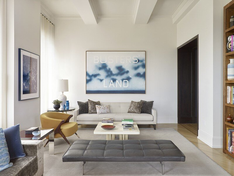 Walker Tower - Artful Living by David Scott Interiors