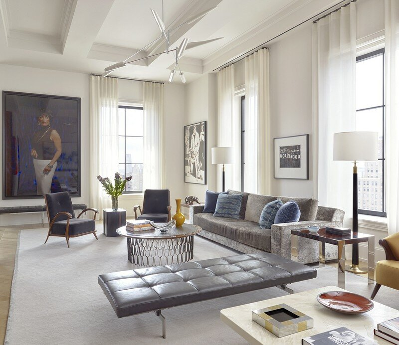 Walker Tower – Artful Living by David Scott Interiors