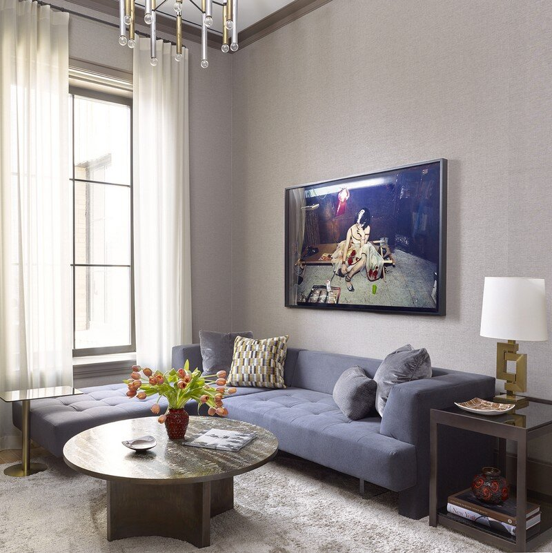 Walker Tower - Artful Living by David Scott Interiors 1