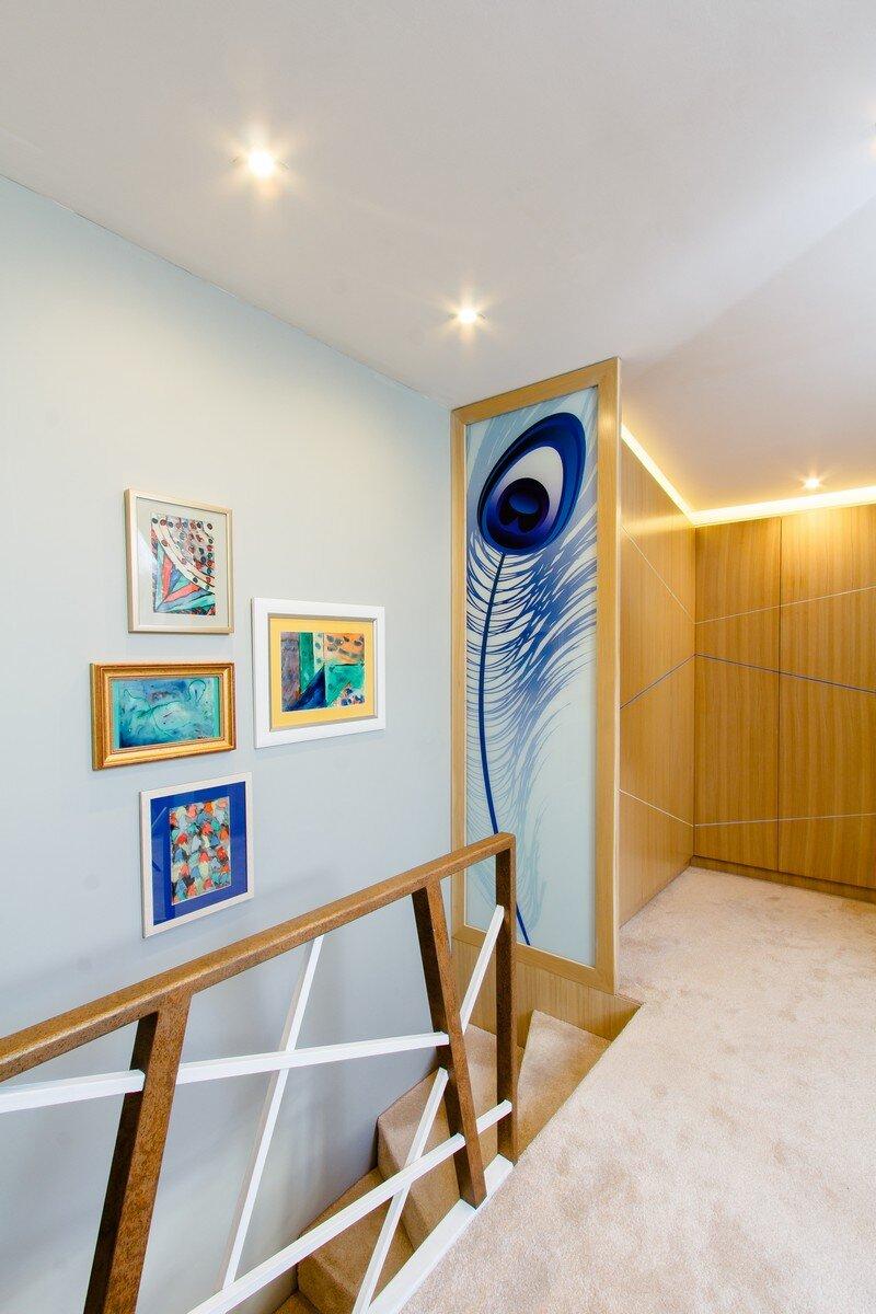 Yellow Apartment - A Bath of Splashy Lights by Hamid Nicola Katrib 13