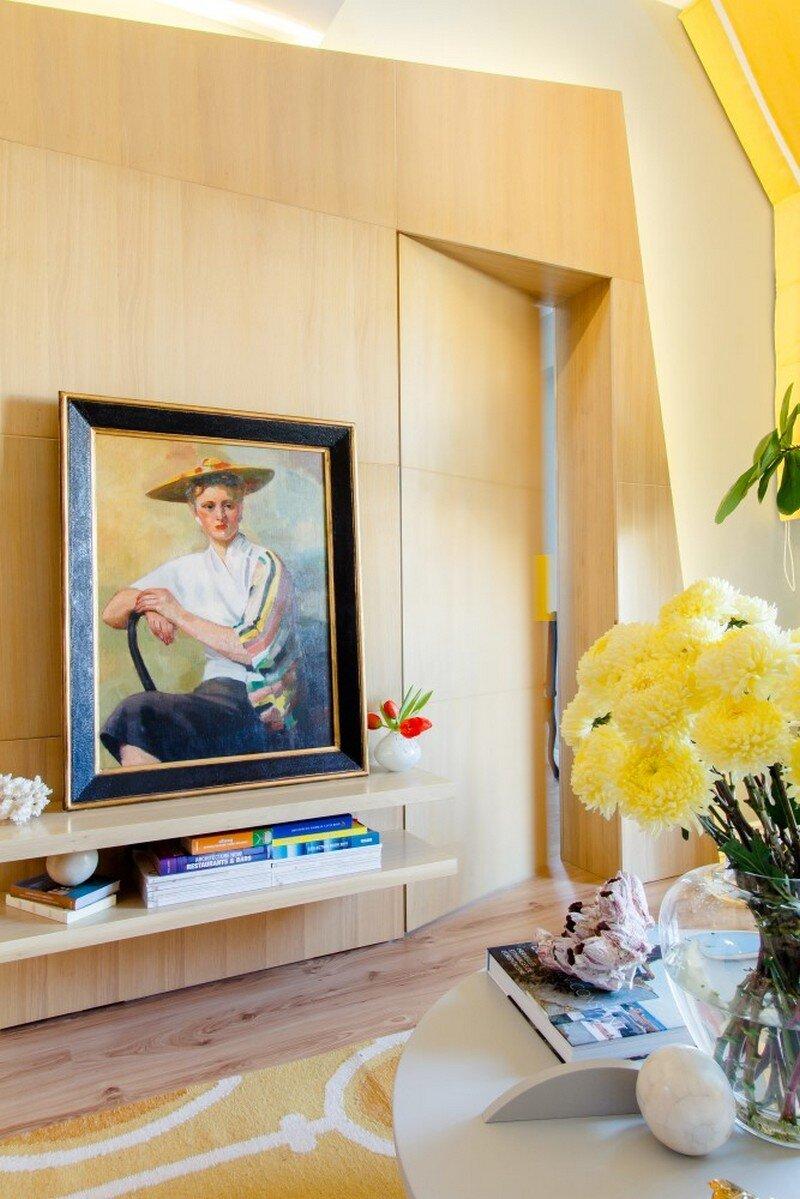 Yellow Apartment - A Bath of Splashy Lights by Hamid Nicola Katrib 3