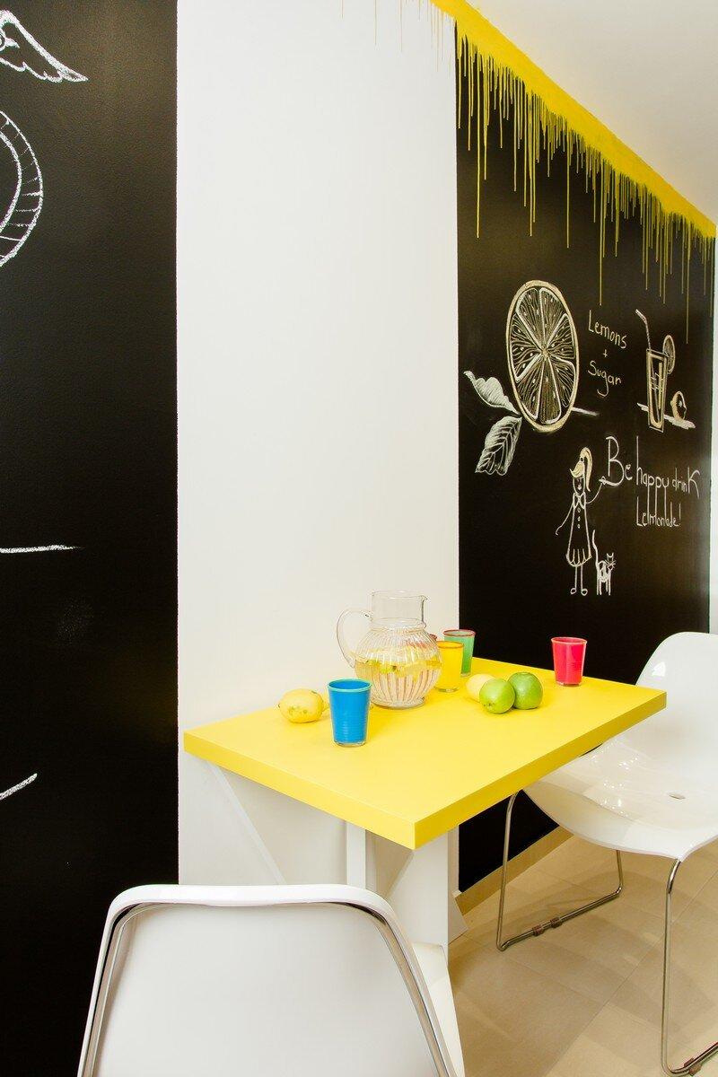 Yellow Apartment - A Bath of Splashy Lights by Hamid Nicola Katrib 8