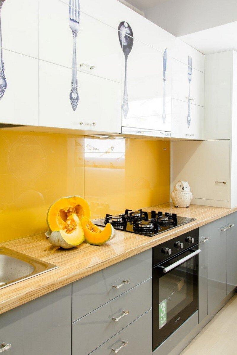 Yellow Apartment - A Bath of Splashy Lights by Hamid Nicola Katrib 7