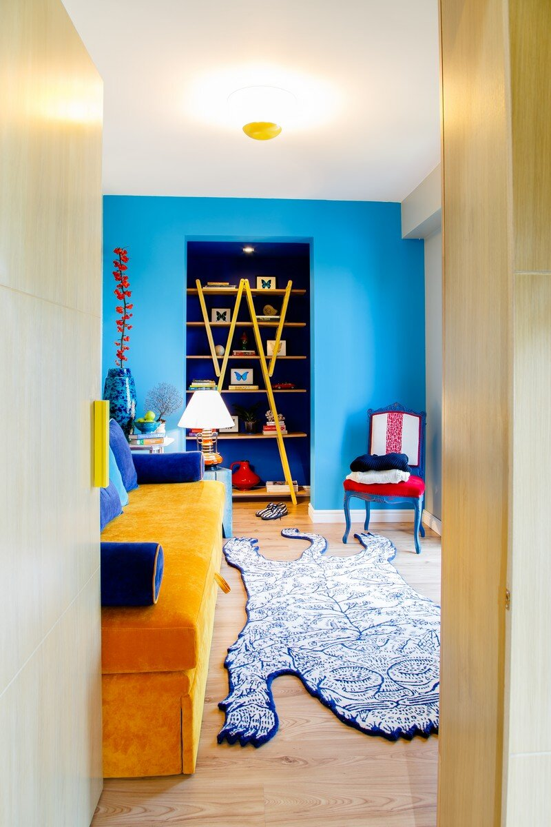 Yellow Apartment - A Bath of Splashy Lights by Hamid Nicola Katrib 5