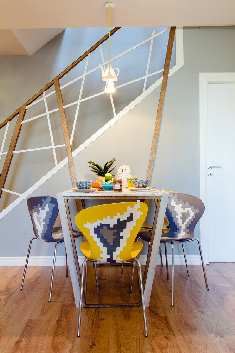 Yellow Apartment - A Bath of Splashy Lights by Hamid Nicola Katrib 12