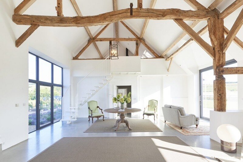 Contemporary Barn Conversion with a True Scandinavian Vibe
