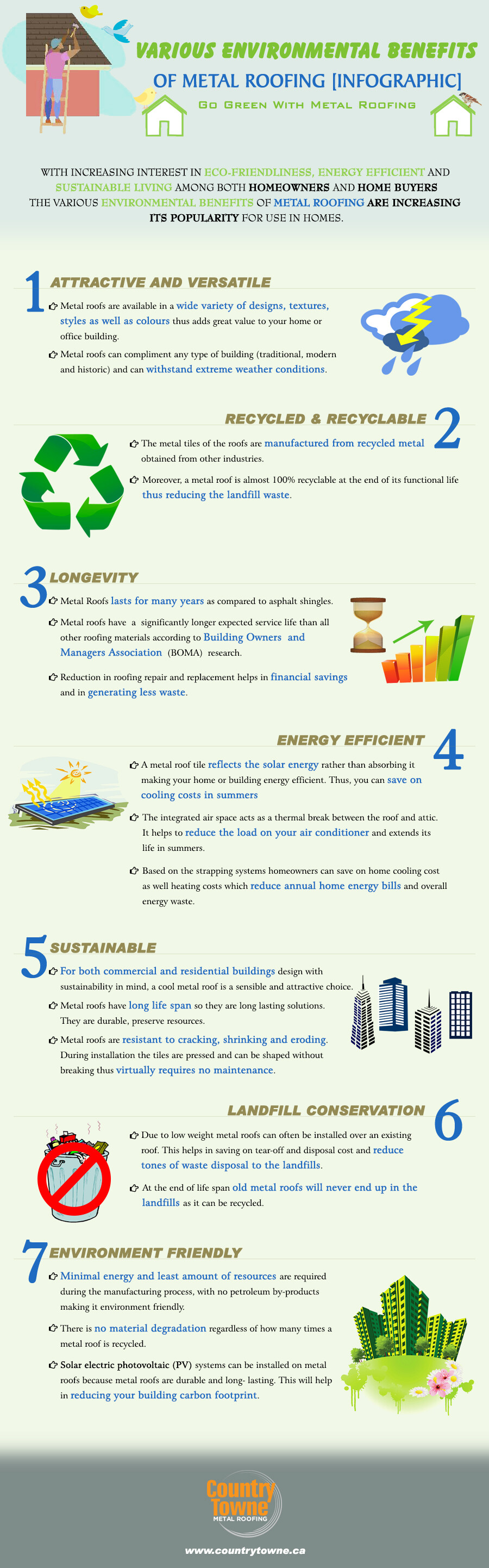 Environmental Benefits of Metal Roofing 3