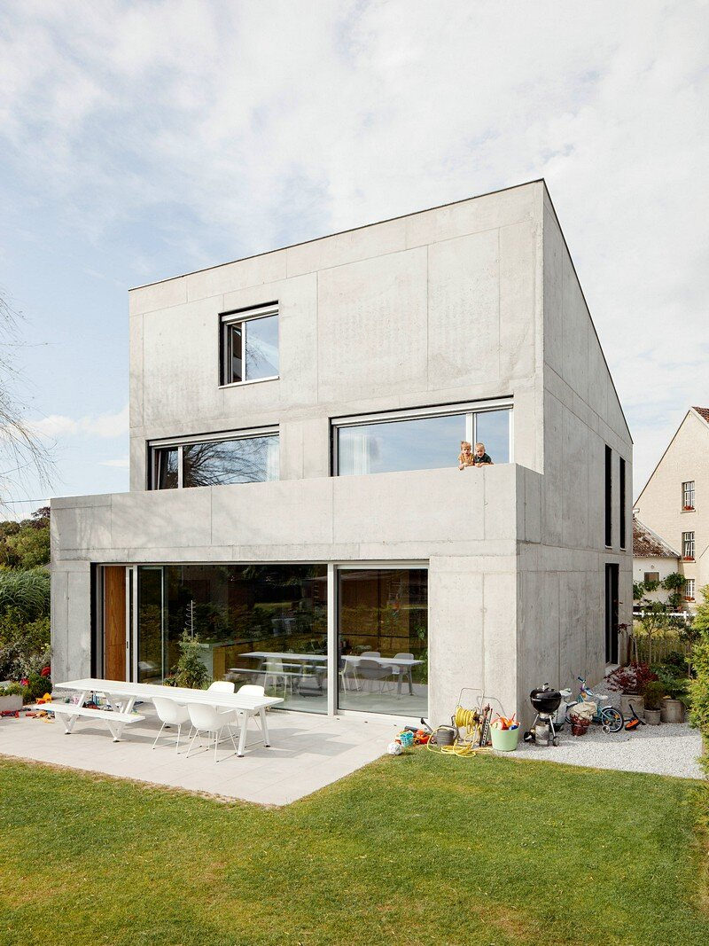 Freestanding Concrete House
