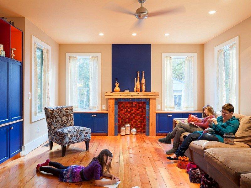 Reorganizing Room: Reorganization Of Mid Century Suburban