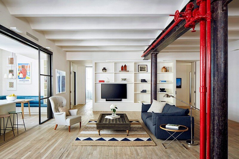 Lafayette Loft in New York / Lang Architecture