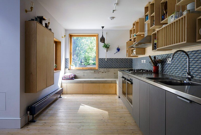 Nook House In East London Mustard Architects