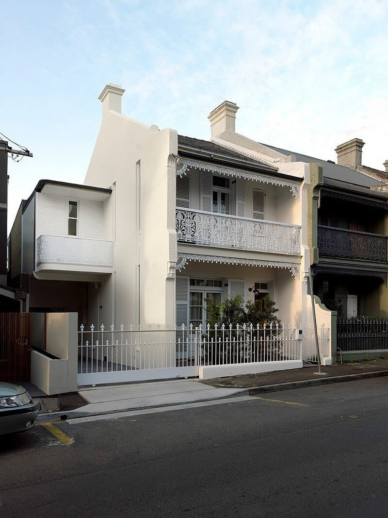 Paddington terrace house by luigi rosselli architects for Terrace interior design ideas