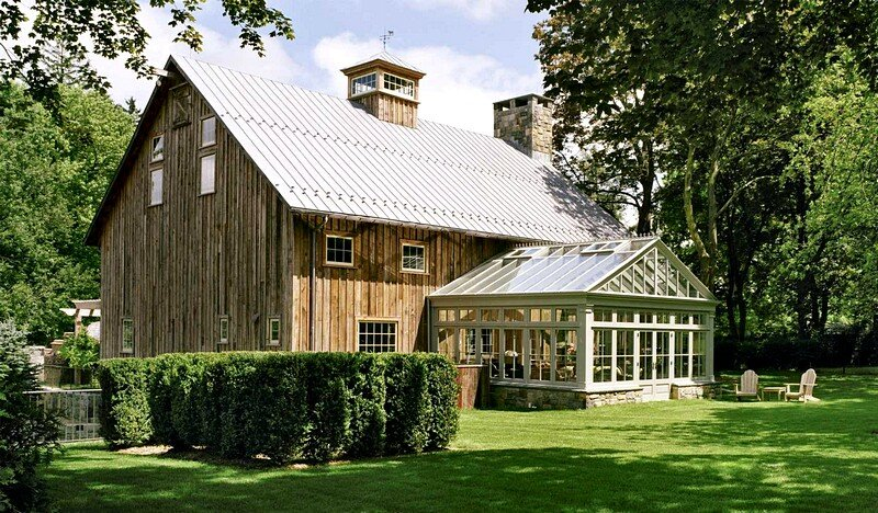 1870 rustic barn restored by douglas vanderhorn architects for Rustic barn plans