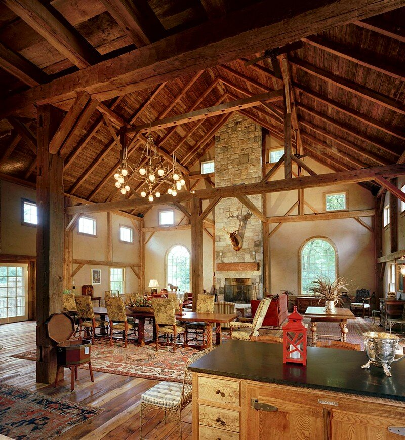 Renovated Barn Homes: 1870 Rustic Barn Restored By Douglas VanderHorn Architects