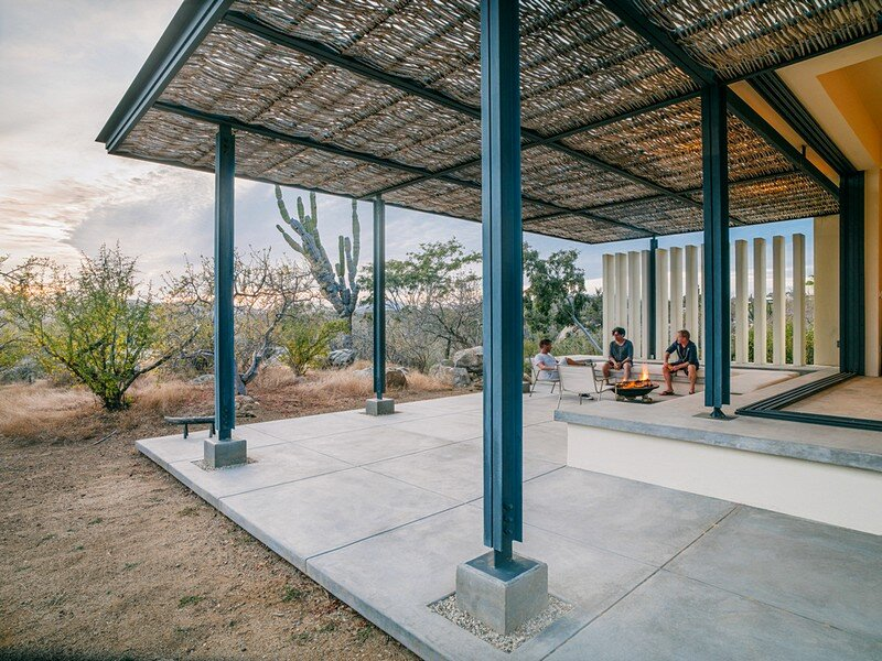 Zacatitos Retreat – Off Grid Desert Dwelling / Campos Leckie Studio