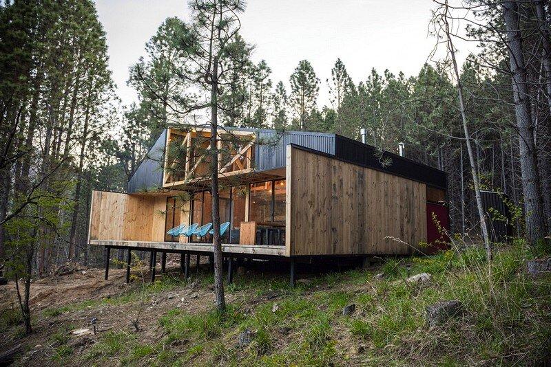 Casa La Quimera In Chilean Patagonia Carlos Torres Alcalde