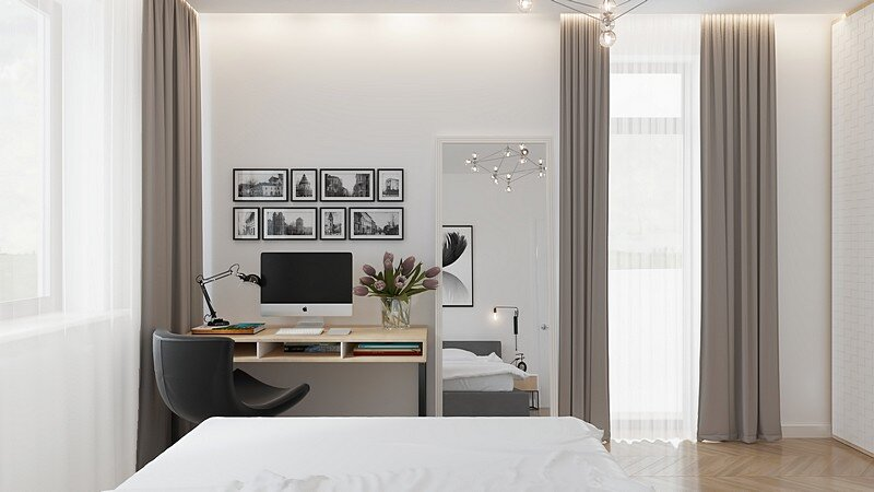Comfortable Scandinavian Apartment 12