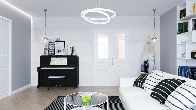 Comfortable Scandinavian Apartment 5