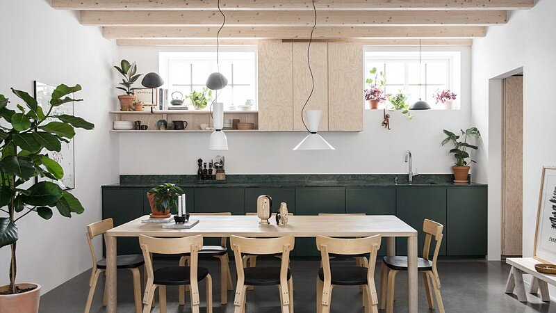 Forstberg Ling Turned an Old Workshop into a Small Home 4