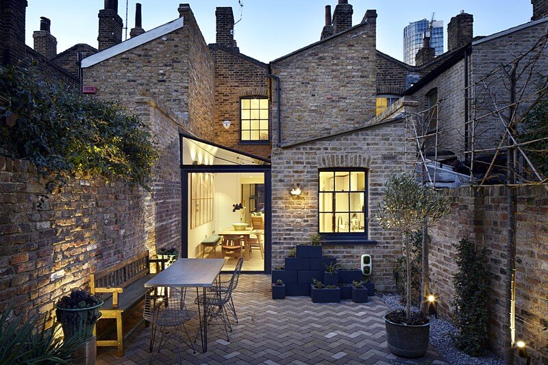 Lambeth Marsh House in London / Fraher Architects