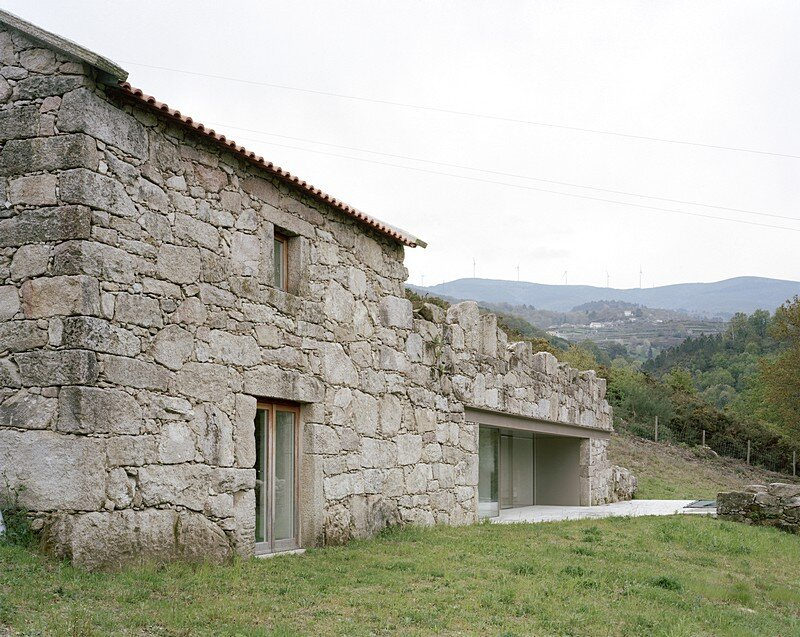 Melgaco House A Small Rural Stone Building Converted