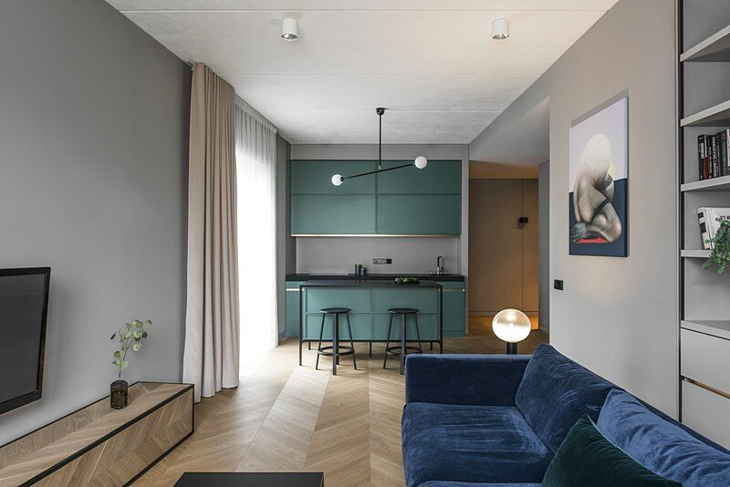 Modern Apartment in Vilnius / AKTA Interiors
