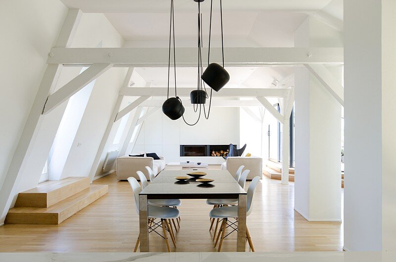 Renovation of a Two Story Attic Apartment 6