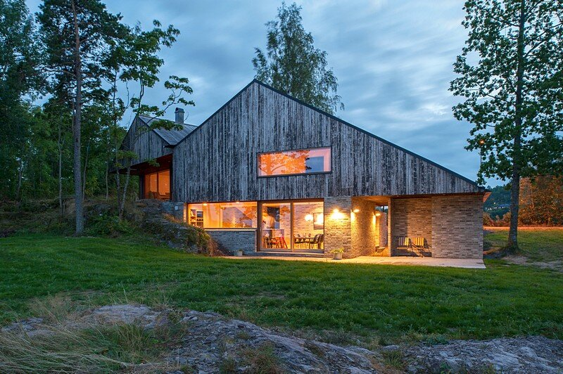 Schjelderup Trondahl Architects Have Designed a Family House on the Edge of a 120m Vertical Cliff