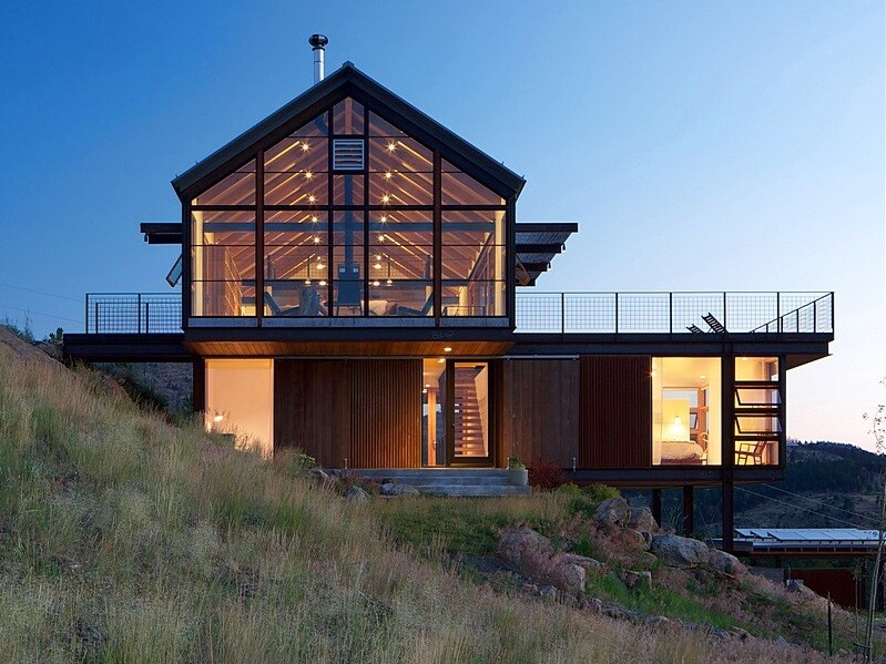 Sunshine Canyon House by Renee del Gaudio Architecture
